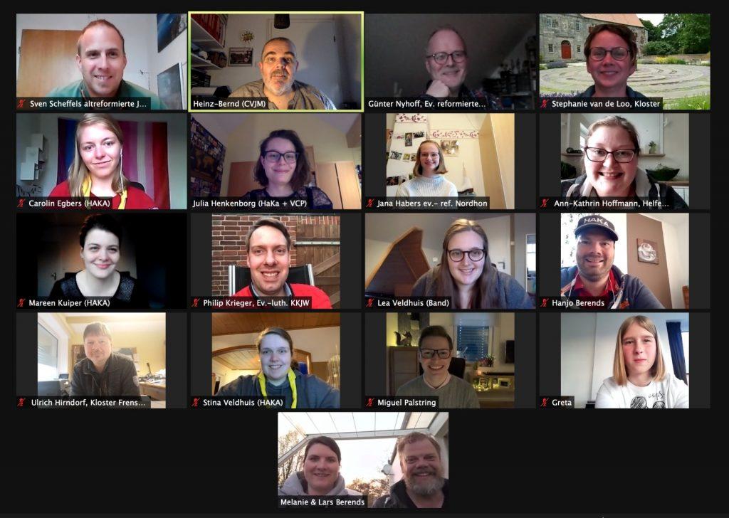 Zoom-Meeting ÖKT-Orga-Team